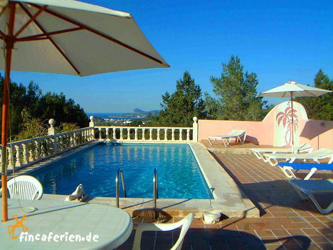 Urlaub auf ibiza ferienhaus mit pool und meerblick nahe - Formentera ferienhaus mit pool ...