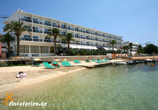Ibiza playa talamanca hotel mit pool am strand zimmer for Hotel in warnemunde direkt am strand