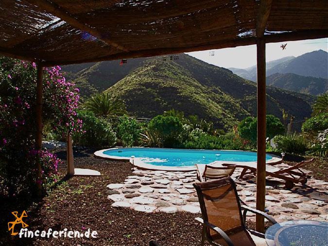 Urlaub Gran Canaria, strandnahes Ferienhaus mit Pool - fincaferien   fincaferien.de