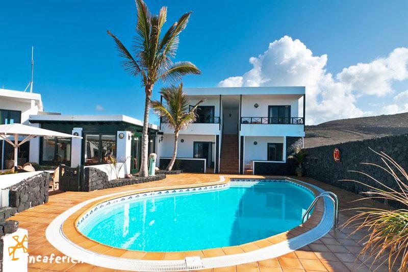 Lanzarote Kleines Hotel Am Meer Mit Pool Und Internet