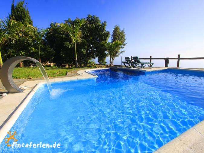 La palma ferienhaus mit beheiztem pool meerblick internet fincaferien - Formentera ferienhaus mit pool ...