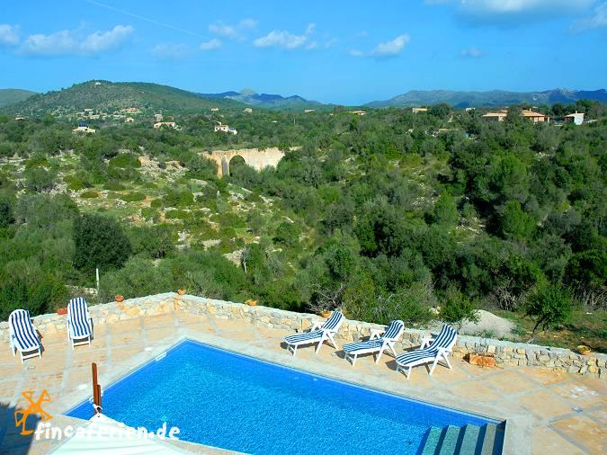 Mallorca gro es ferienhaus mit pool ruhige alleinlage - Formentera ferienhaus mit pool ...