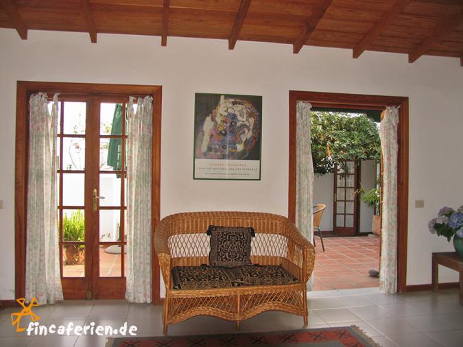 wohnen mit flair auf teneriffa ferienhaus auf einer finca fincaferien finca. Black Bedroom Furniture Sets. Home Design Ideas