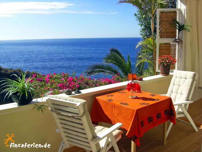 Teneriffa: Ferienwohnung Mit Meerblick Direkt Am Meer