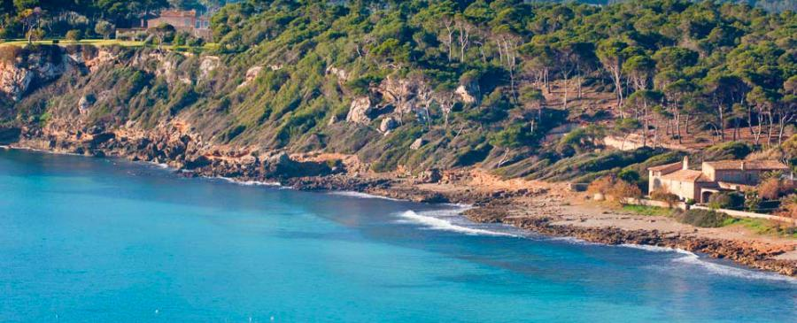 Panorama Küste Mallorca
