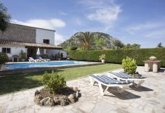 Mallorca Urlaub in Finca mit Pool nahe Pollenca (Nr. 3033)
