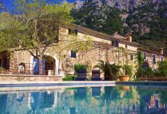 Traumhafte Aussicht -  Finca mit Pool bei Fornalutx (Nr. 0637)