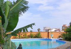 Villa mit Pool und Meerblick in El Sauzal (Nr. 0730)