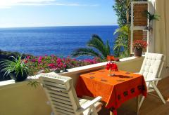 Teneriffa: Ferienwohnung mit Meerblick direkt am Meer (Nr. 0786)
