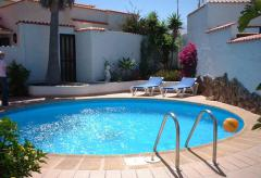 Ferienhaus am Meer mit Pool und Internetanschluss (Nr. 0799)