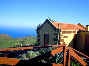 Ferienhaus mit Meerblick in Guarazoca