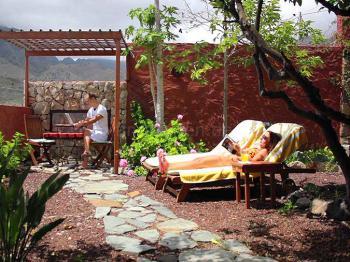 Privater Garten und Terrasse