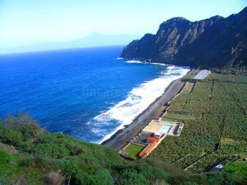 Meer und Strand bei Hermigua