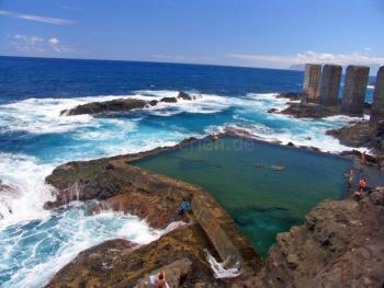 Meeresschwimmbecken in Hermigua