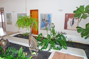 Dekorative Pflanzenbeete
