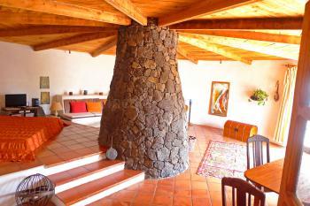 Ferienhaus mit Kamin