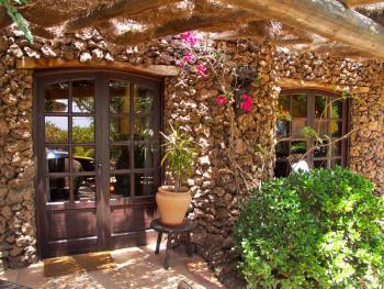 Eingang Ferienwohnung Lanzarote