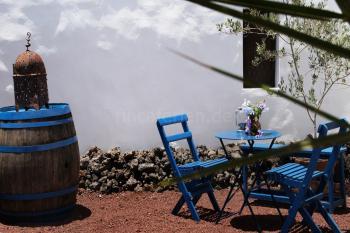 Essplatz im Lavagarten