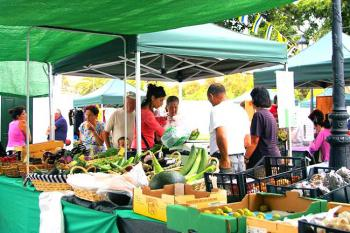 Wochenmarkt in Haria