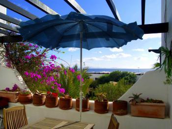 Meerblick vom Pica-Balkon