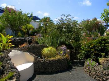 Apartments Lanzarote Garten