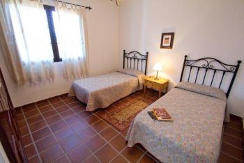 Schlafzimmer mit Einzelbetten, Wohnbeispiel