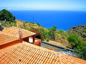 Landhaus mit Meer- und Panoramablick