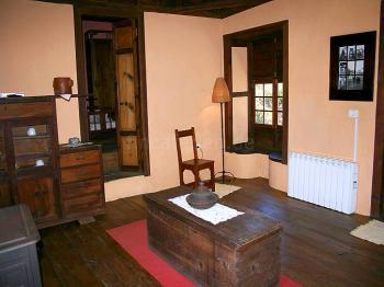 Wohnzimmer mit Zentralheizung