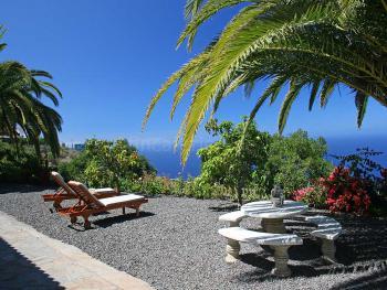 La Palma Ferienhaus mit Meerblick und Pool