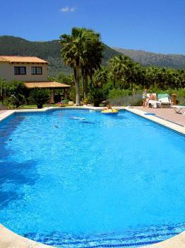 Familienfinca mit Pool - Familienurlaub Mallorca