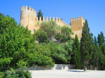 Burganlage in Arta