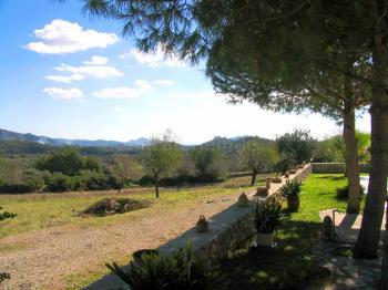 Blick auf die Berge Mallorcas