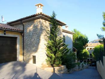 Strandnahe Villa
