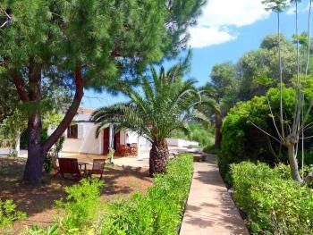 Ferienhaus im Grünen mit Pool