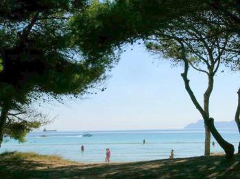 Blick auf die Bucht von Alcudia