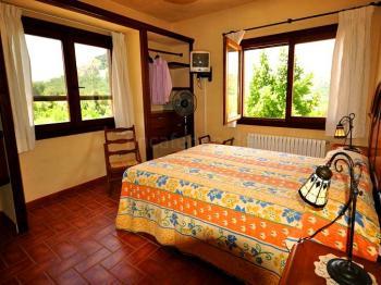 Schlafzimmer in der oberen Etage