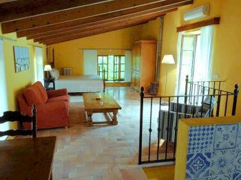Wohn- und Schlafbereich im Obergeschoss
