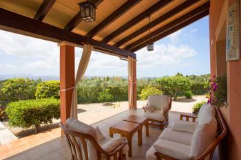 Terrasse mit schönem Panoramablick