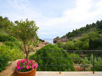 Meerblick an der Westküste von Mallorca