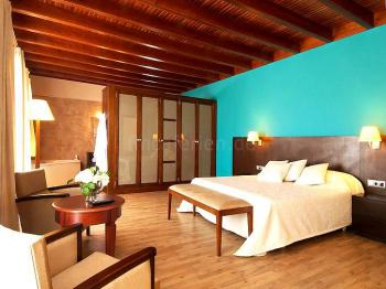 Schlafzimmer mit Klimaanlage