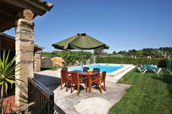 Terrasse am Pool