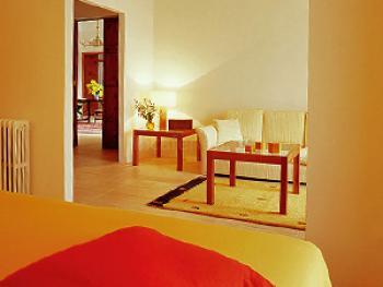 Wohnraum einer Suite