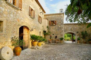Restauriertes Landhotel bei Calvia