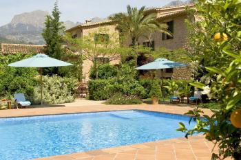 Romantisches Hotel mit Pool