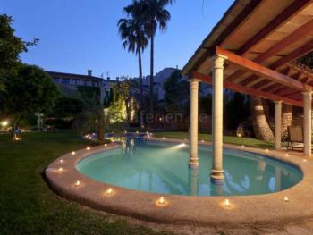 Mallorca, Land-Hotel mit Pool