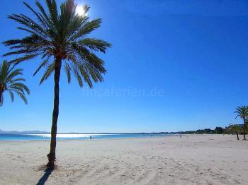 Strandurlaub Mallorca - Strand von Alcudia