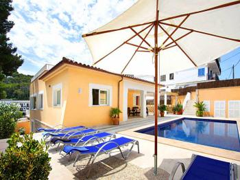 Villa mit Klimaanlage