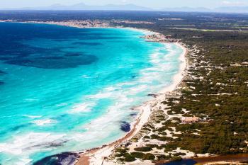 Langer Sandstrand - Playa Es Trenc