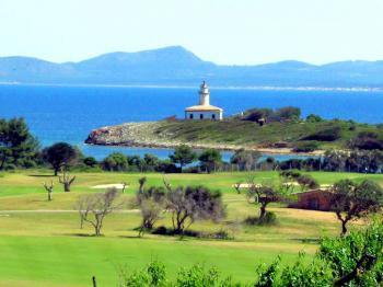 Leuchtturm auf der Insel Alcanada - Bucht von Alcudia