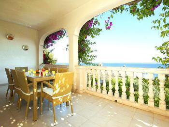 Ferienhaus mit Meerblick in Alcanada